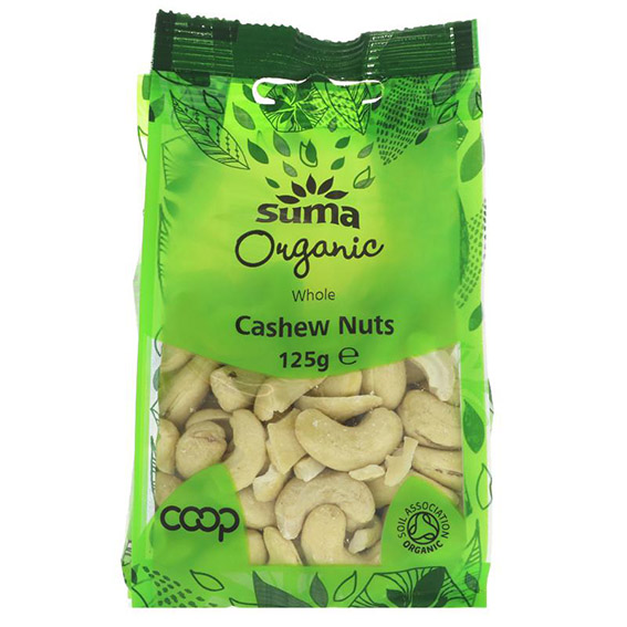 Suma organic cashew nuts 125 gr