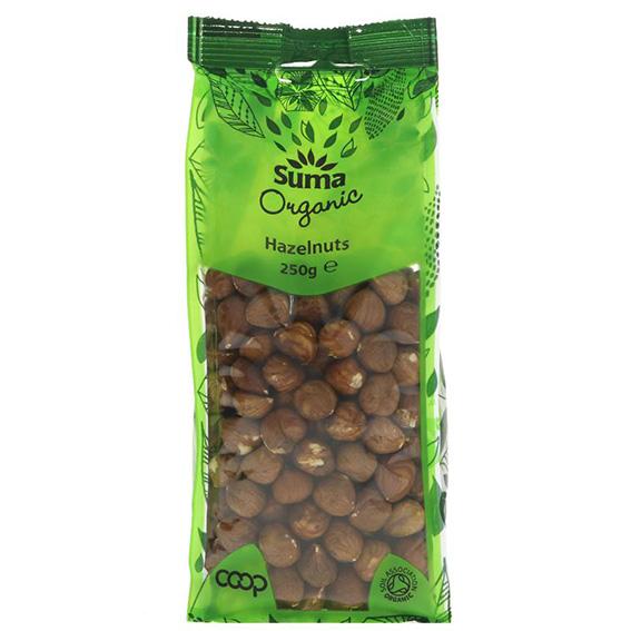 Suma organic hazelnuts 250 gr