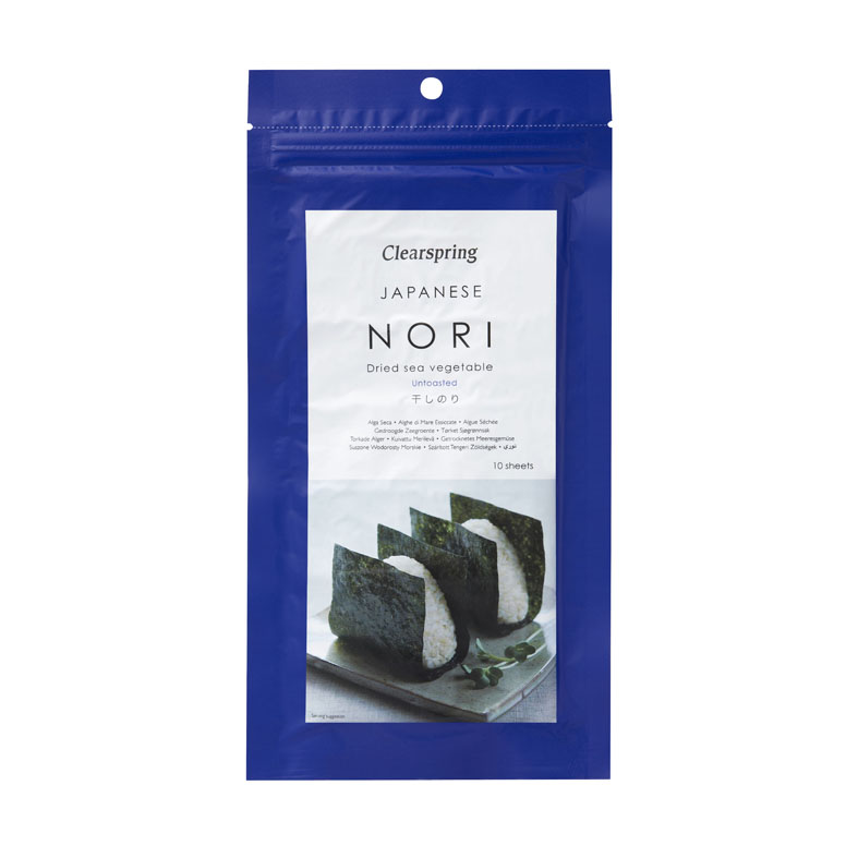 Clearspring nori 10 sheets 25 gr