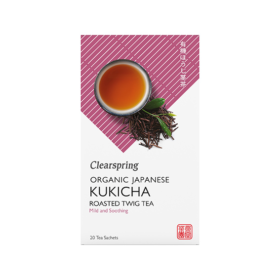 Clearspring roasted kukicha tea 20 bags