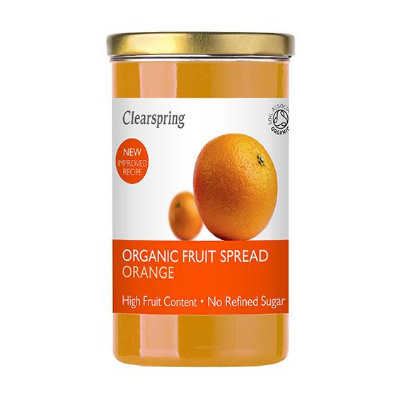 Clearspring fruit spread orange 280 gr