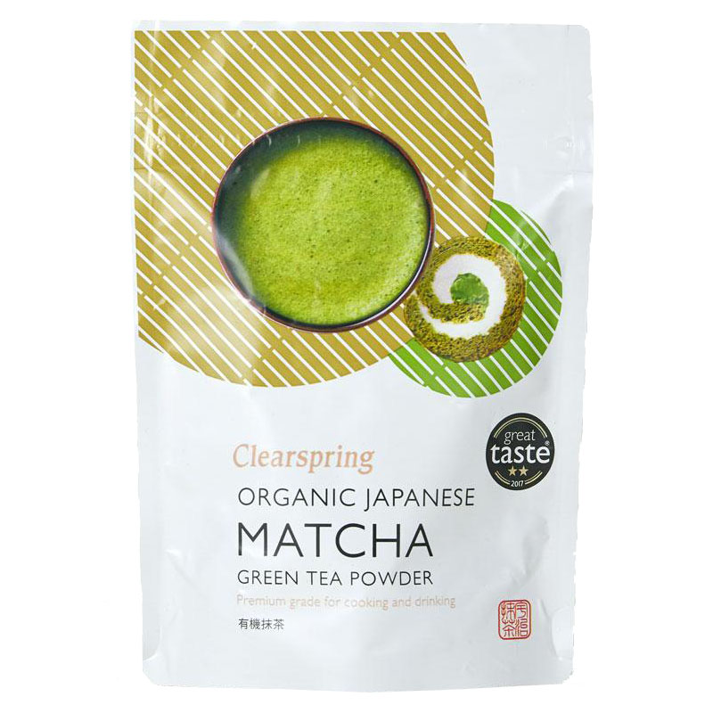Clearspring green te matcha premium grade 40 gr