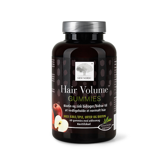 New Nordic hair volume gummies 60 stk