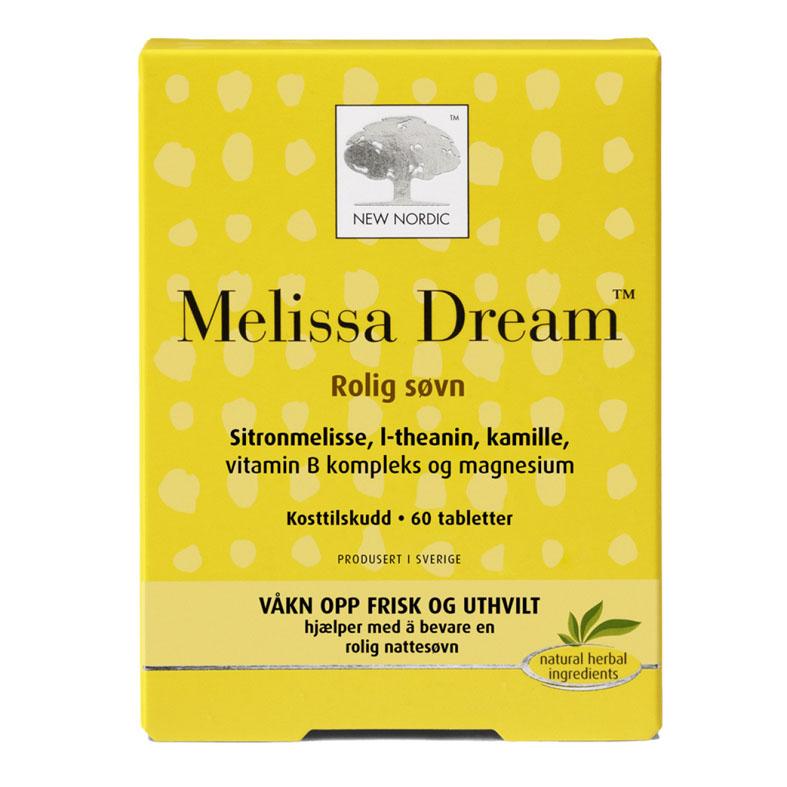 New Nordic melissa dream 60 tab