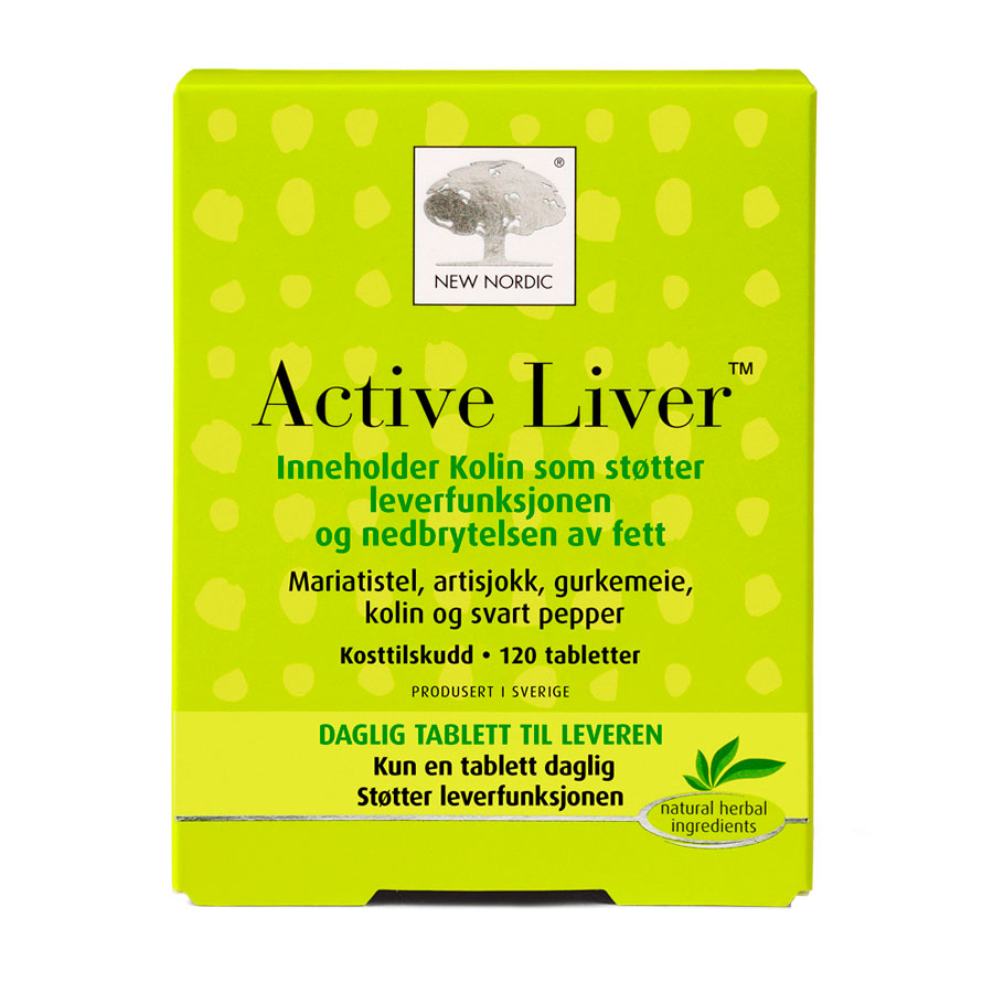 New Nordic active liver 120 tab