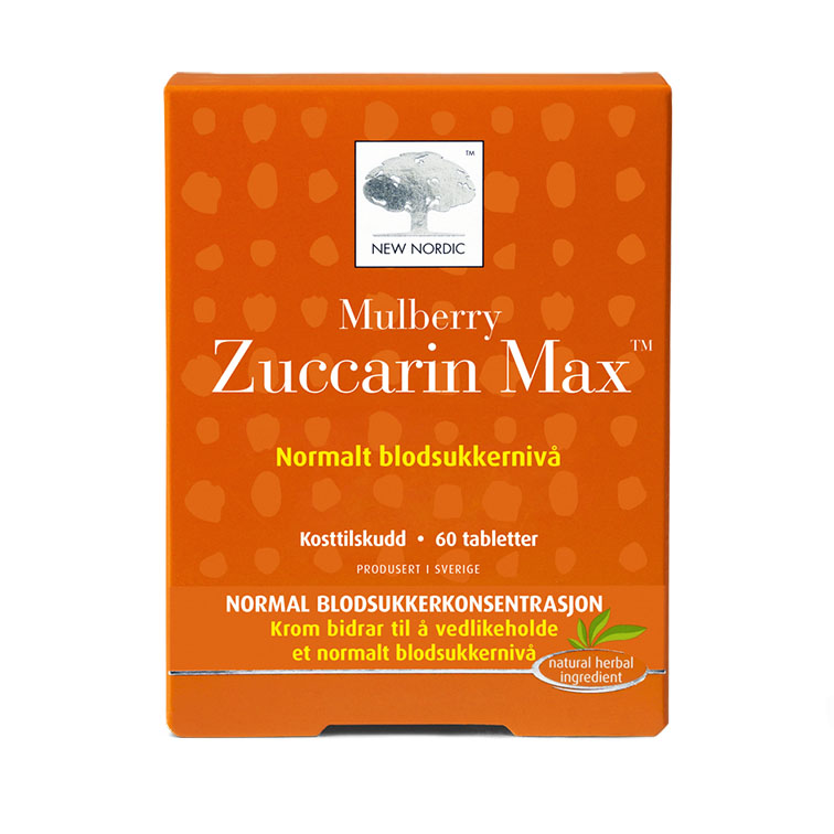 New Nordic mulberry zuccarin max 60 tab