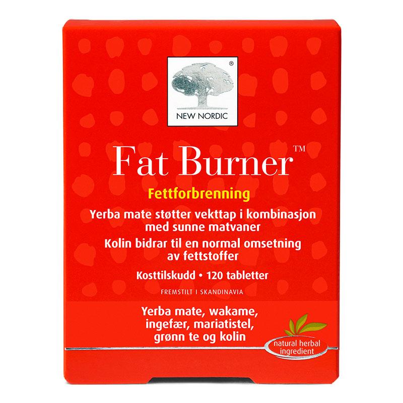 New Nordic fat burner 120 tab
