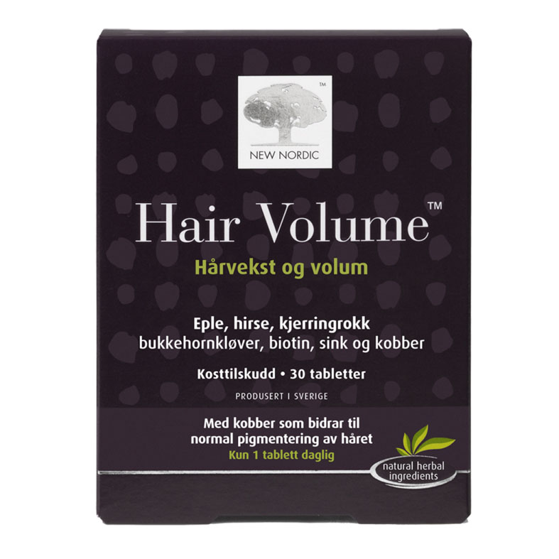 New Nordic hair volume 30 tab