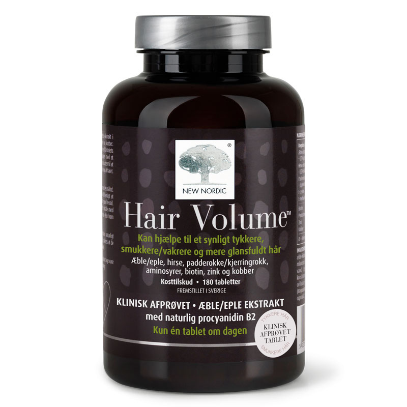 New Nordic hair volume 180 tab