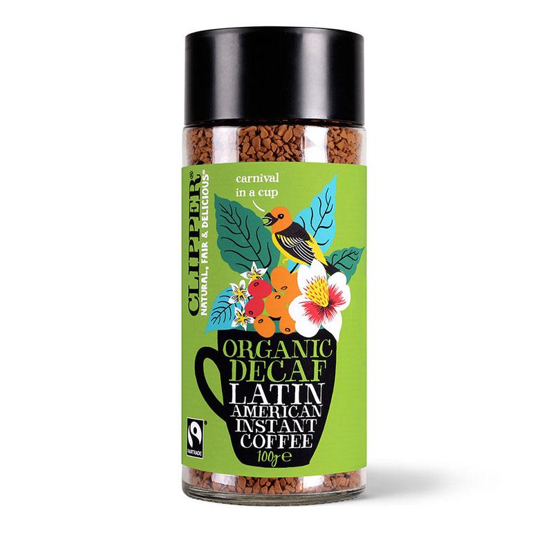 Clipper instant coffee latin american decaf 100 gr