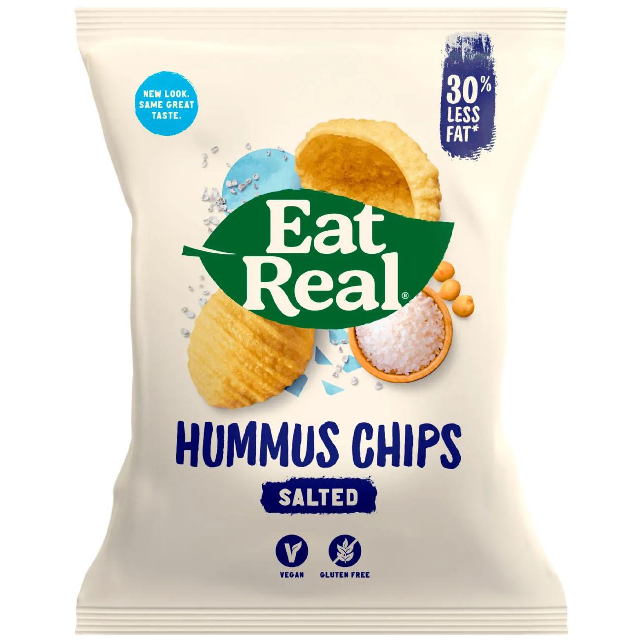 Eat Real hummus sea salt 135 gr