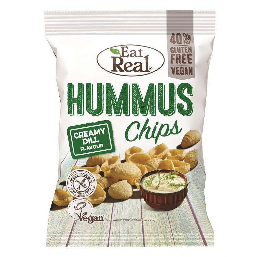 Eat Real hummus chips creamy dill 135 gr