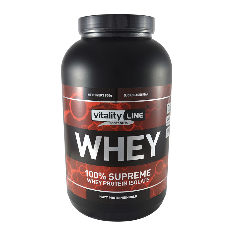 Vitality Line whey sjokolade 900 gr