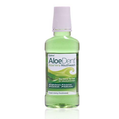 Aloe Dent munnvann u/fluor 250 ml