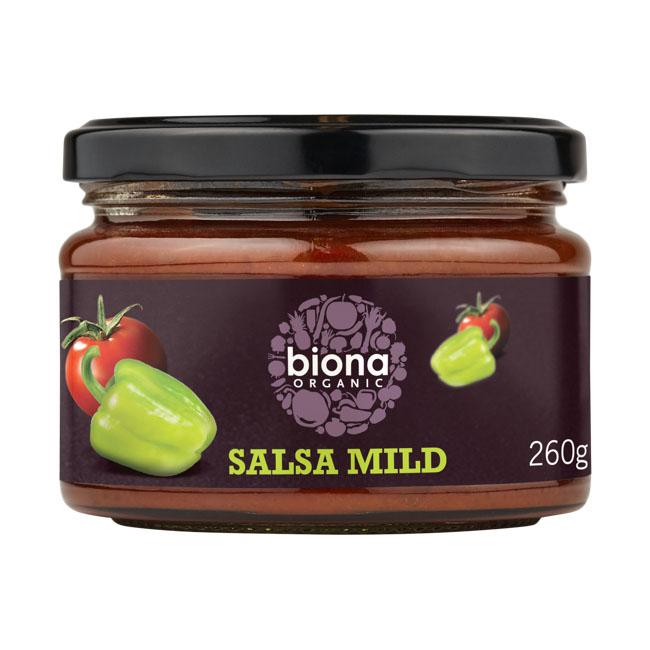 Biona salsa dip mild 260 gr øko