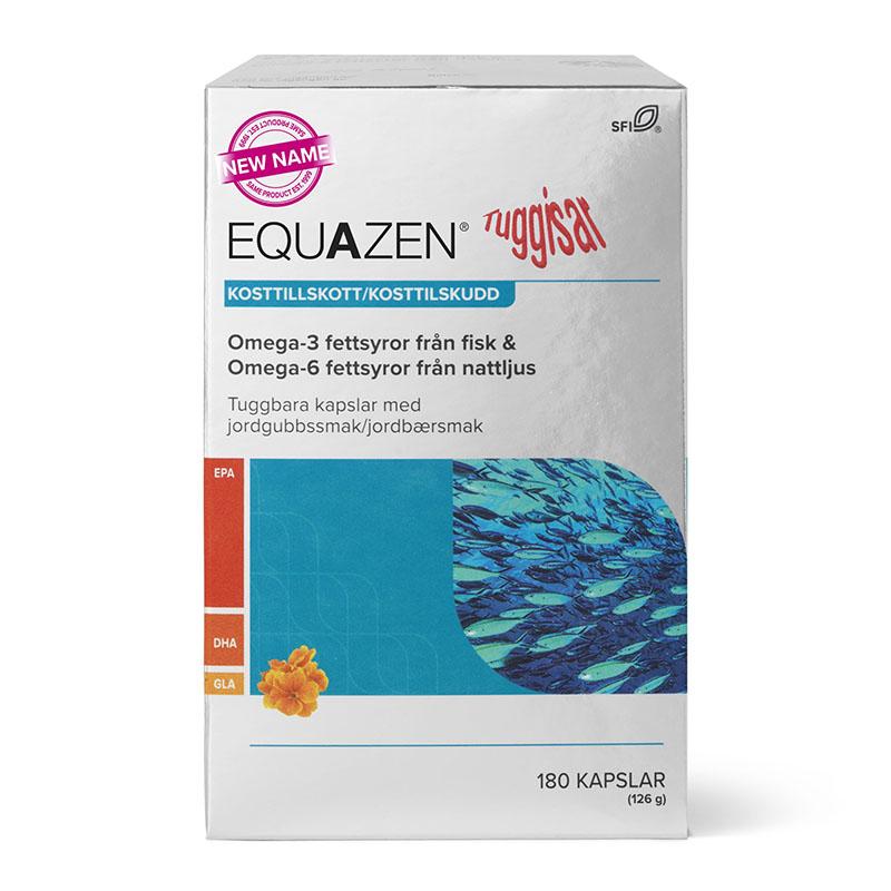 Eye Q tyggekapsler 180 kap