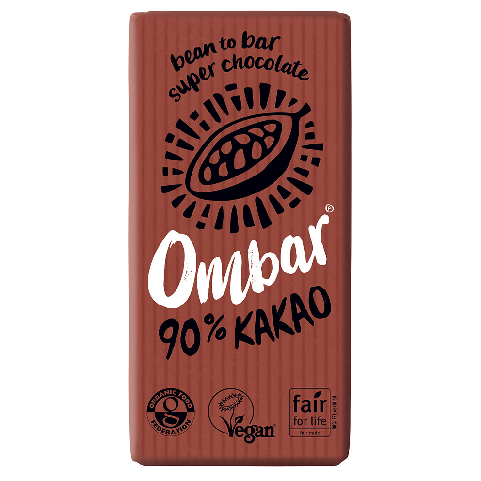 Ombar 90% cacao 35 gr