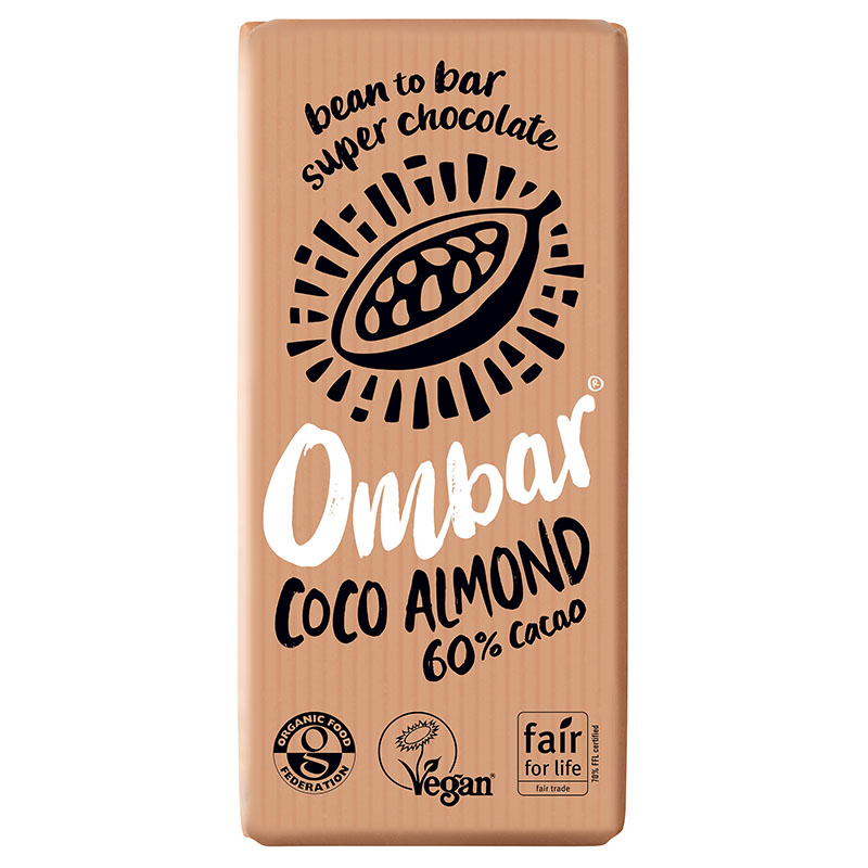 Ombar coco almond 70 gr