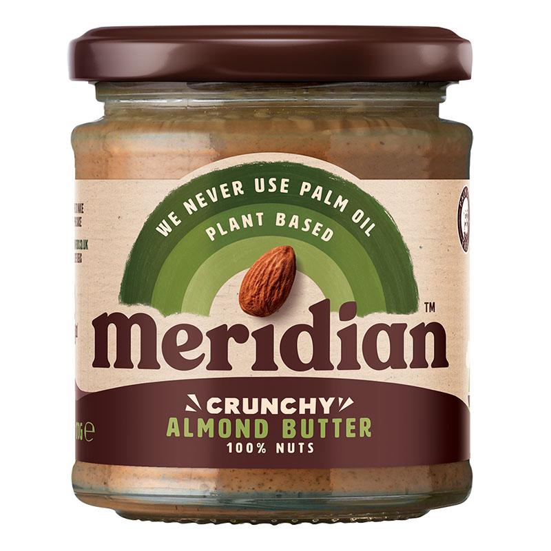 Meridian crunchy almond butter 170 gr