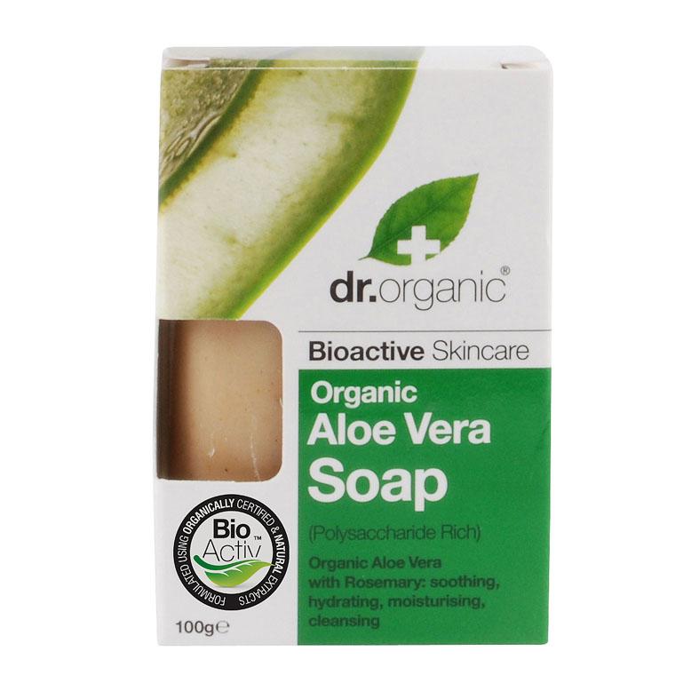 Dr. Organic soap aloe vera 100 gr