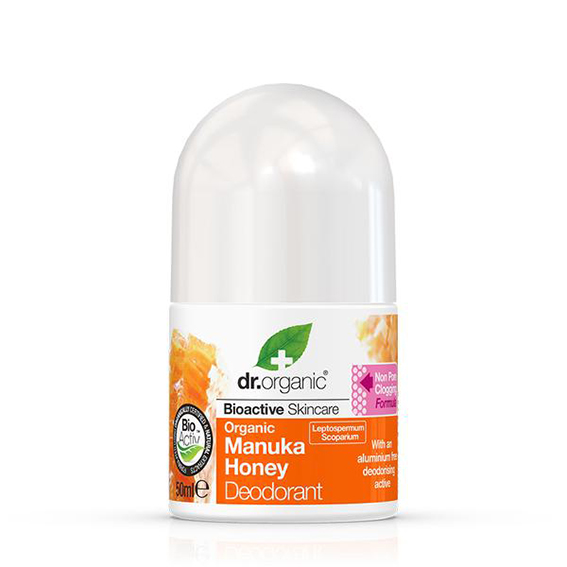 Dr. Organic manuka honey deo roll on 50 ml