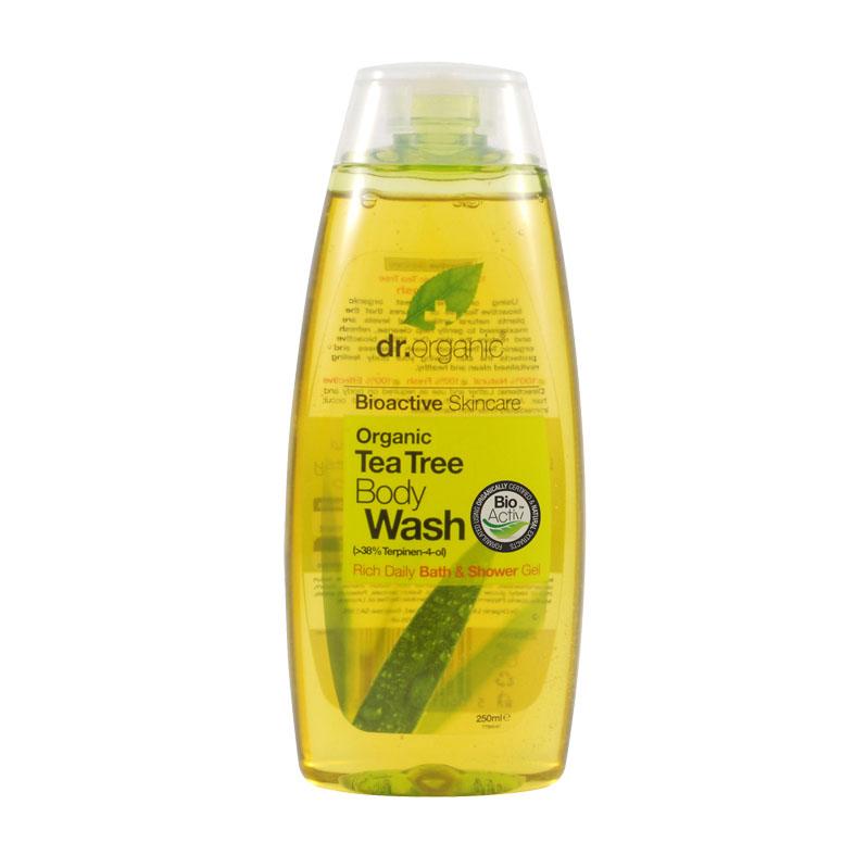 Dr. Organic body wash tea tree 250 ml