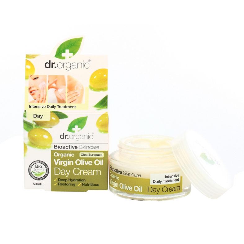 Dr. Organic virgin olive oil day cream 50 ml