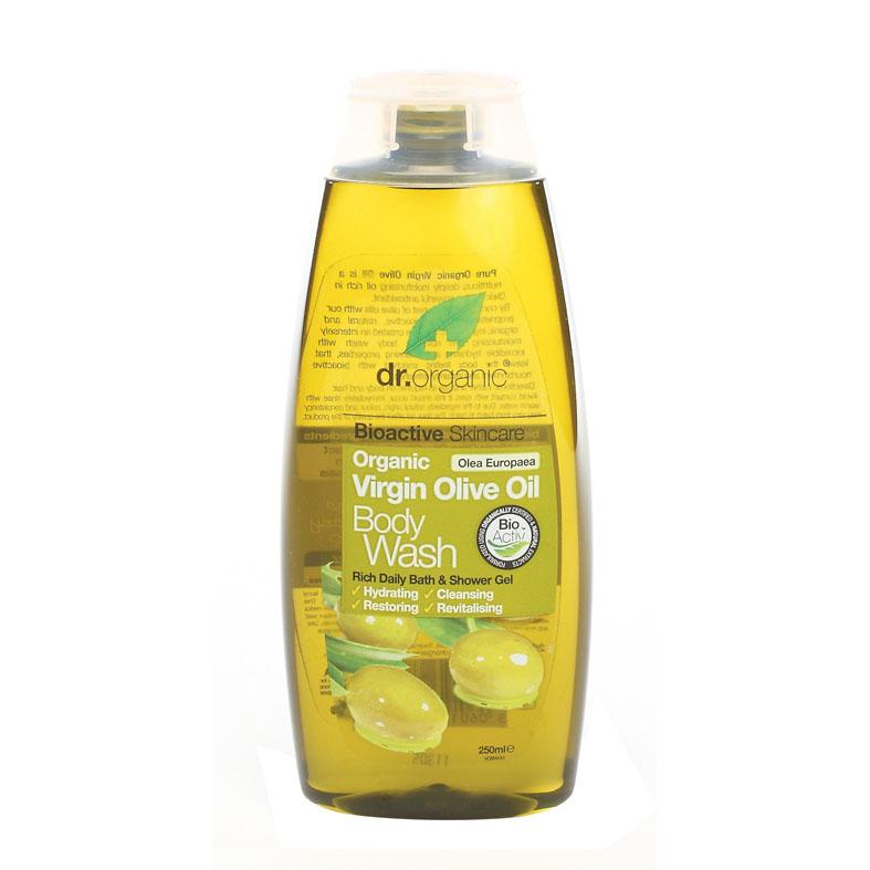 Dr. Organic virgin olive oil body wash 250 ml