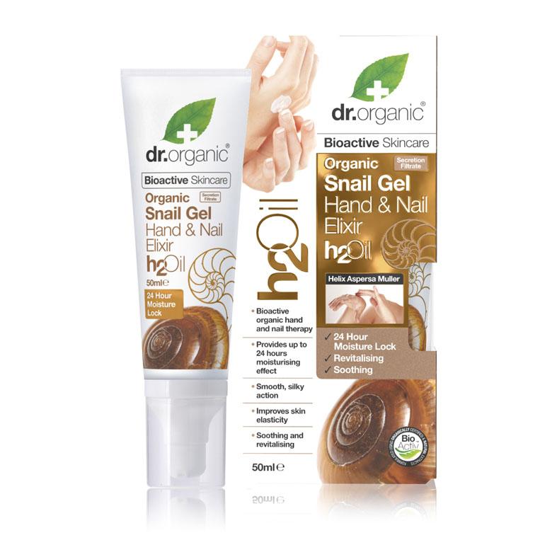 Dr. Organic snail gel hand & nail elixir 50 ml