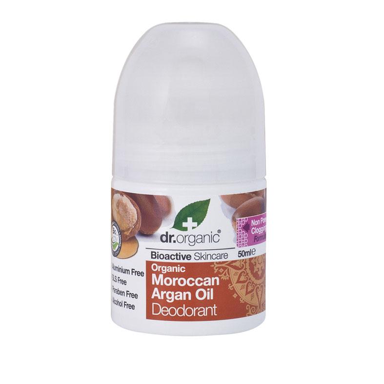 Dr. Organic moroccan argan oil deo roll on 50 ml