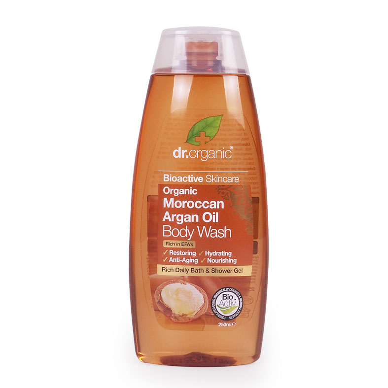 Dr. Organic moroccan argan oil body wash 250 ml