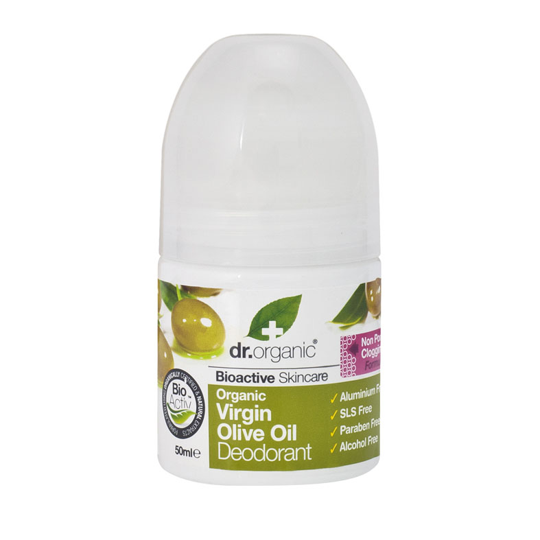 Dr. Organic virgin olive oil deo roll on 50 ml