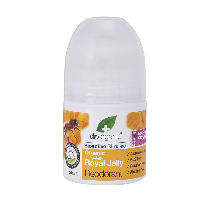 Dr. Organic royal jelly deo roll on 50 ml