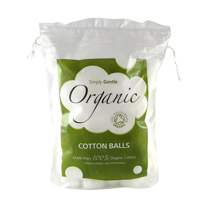 Simply organic bomullsballer 100 gr