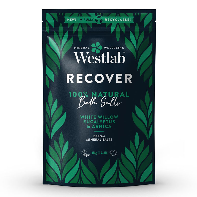Westlab badesalt recover 1 kg
