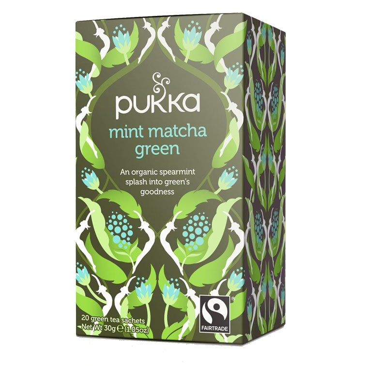 Pukka mint matcha green 20 bag