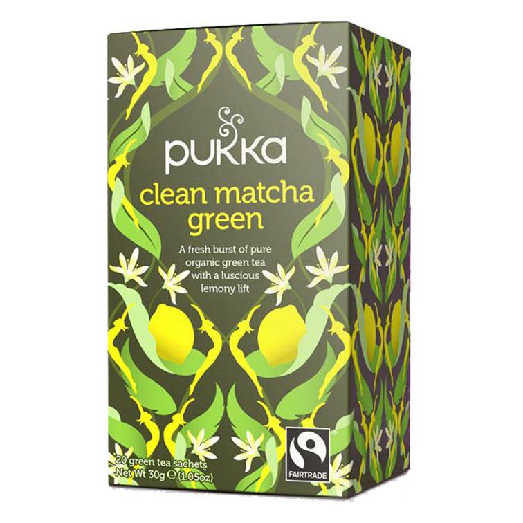 Pukka clean matcha green te 20 poser