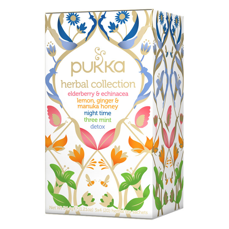 Pukka herbal collection te 20 poser