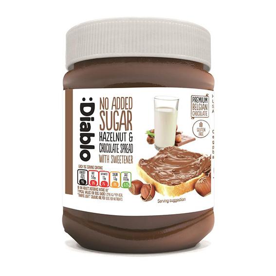 Diablo hazelnut chocolate spread 350 gr