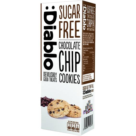 Diablo chocolate chip cookies sukkerfri 135 gr