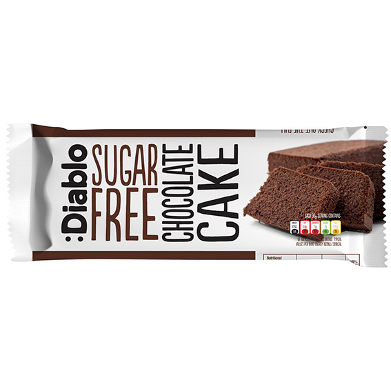 Diablo sugar free chocolate cake sukkerfri 200 gr