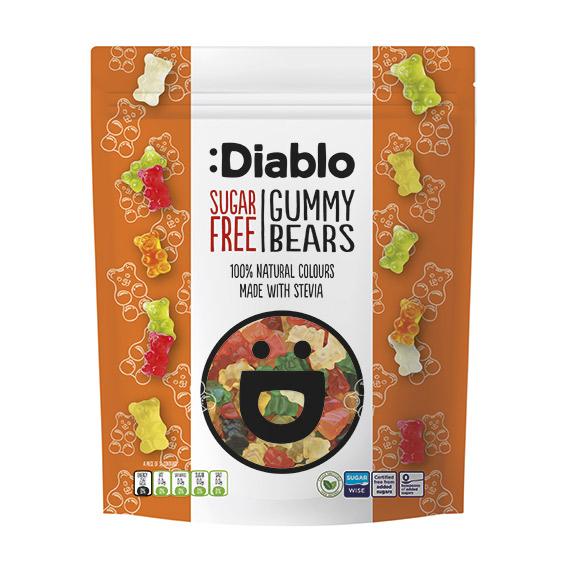 Diablo gummy bears 75 gr