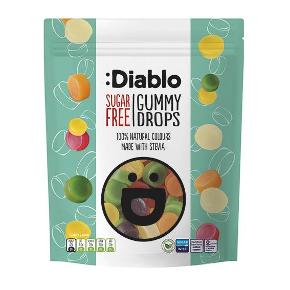 Diablo gummy drops 75 gr