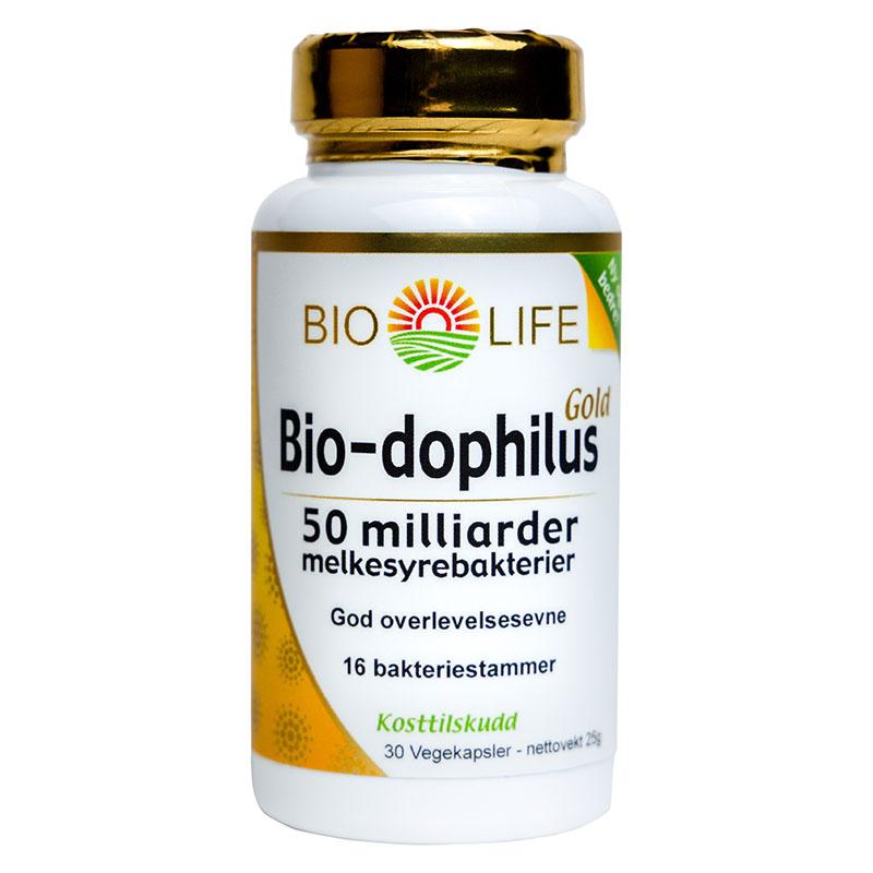 Bio Life bio-dophilus gold 30 kap