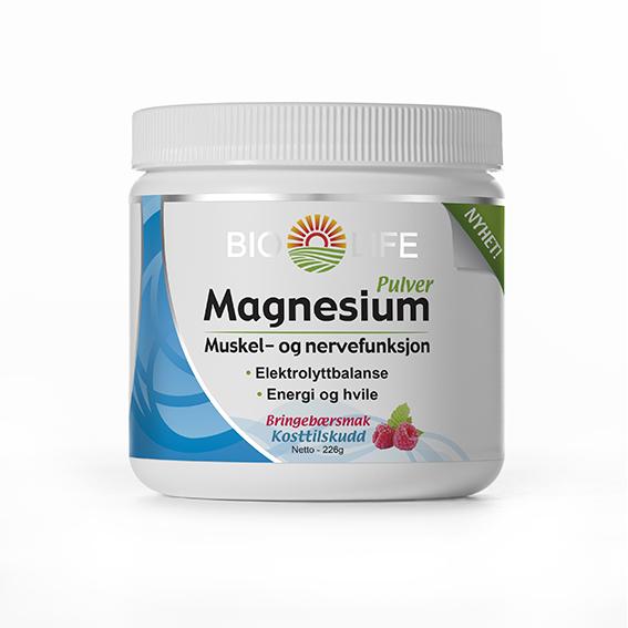 Bio Life magnesium pulver 226 gr
