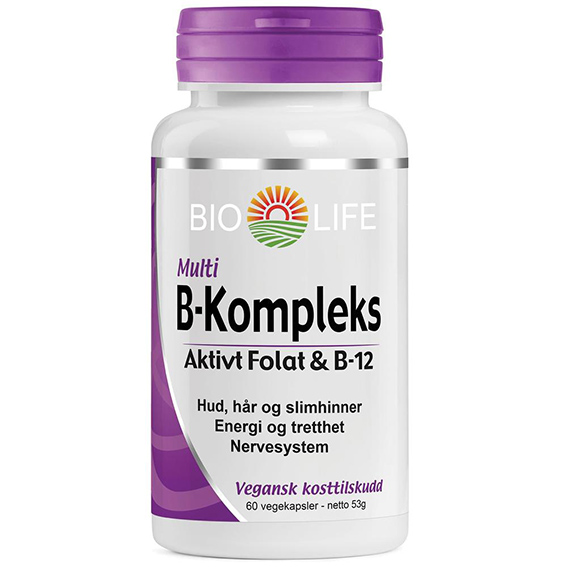 Bio Life b-kompleks 60 kap