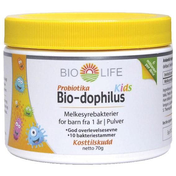 Bio Life bio-dophilus kids 70 gr