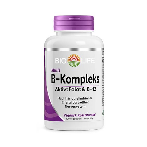 Bio Life b-kompleks 120 kap