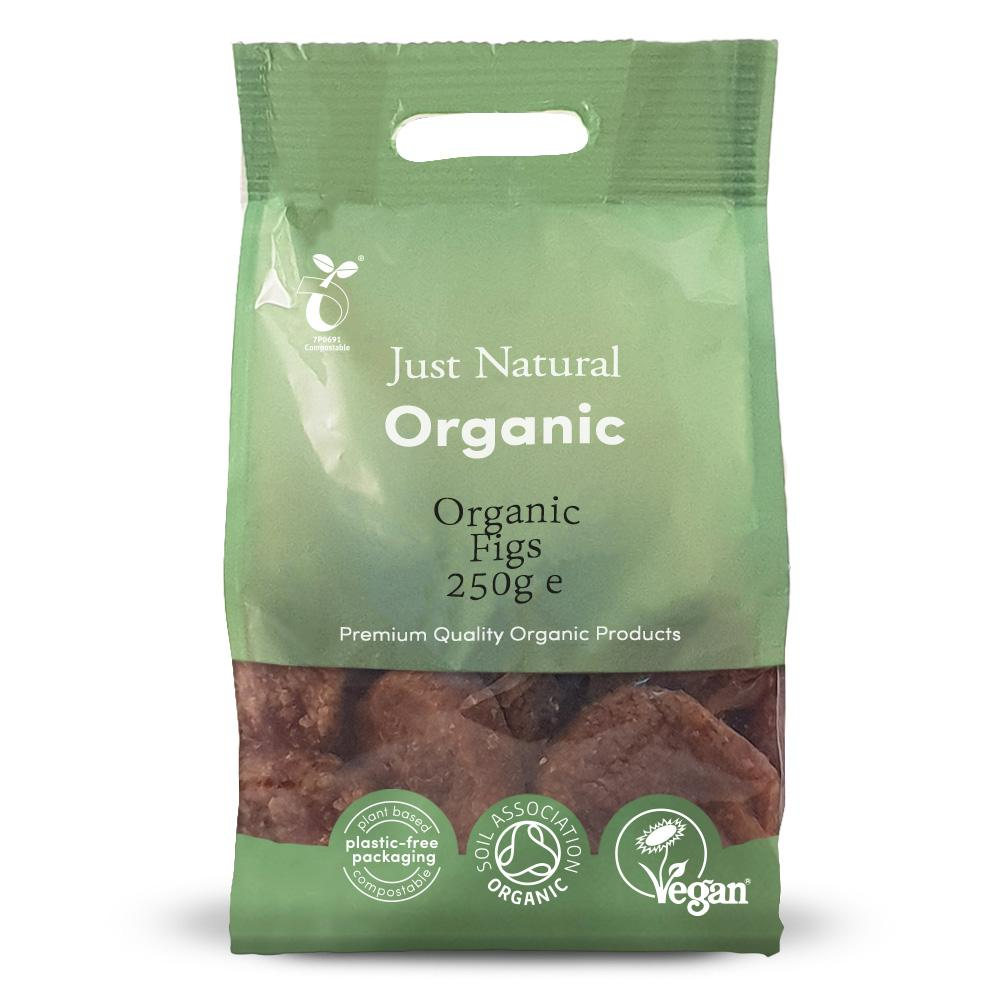 Just Natural organic figs 250 gr