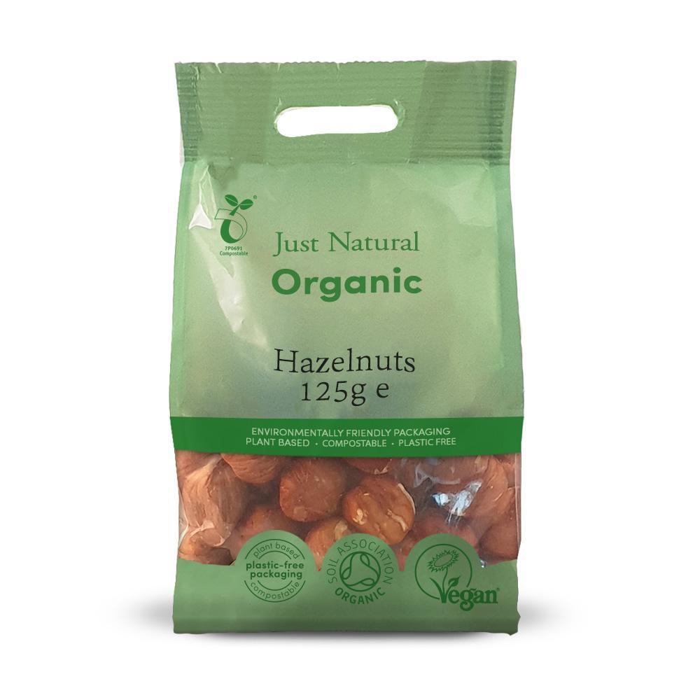 Just Natural organic hazelnuts 125 gr